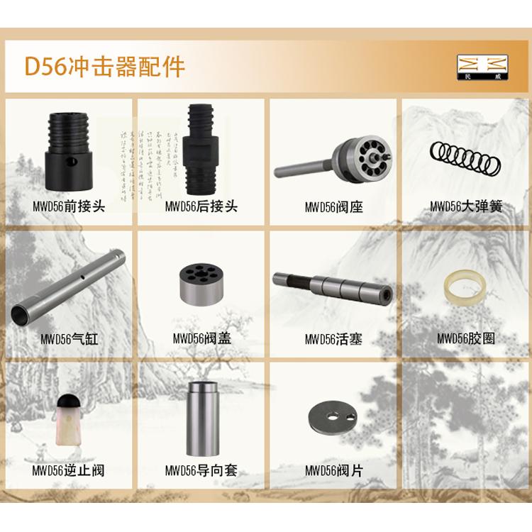 D56冲击器(注浆专用)配件集